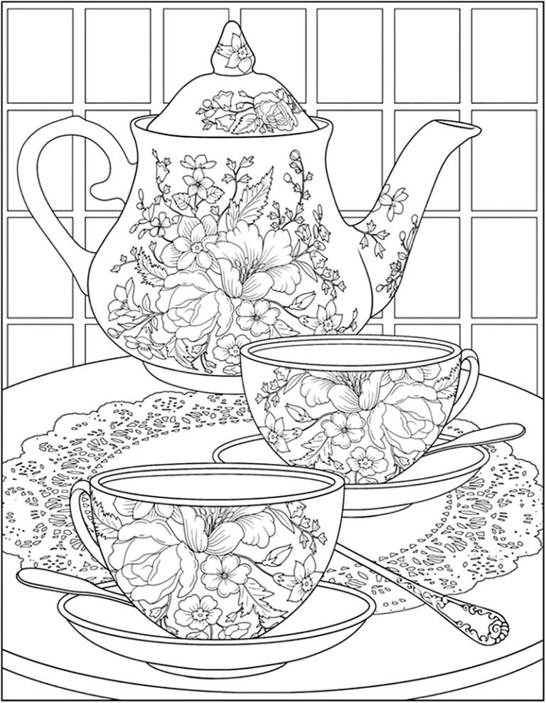 Tea Coloring