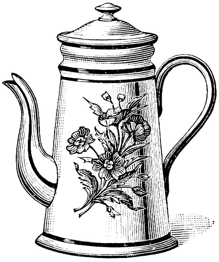 Teacup Printable Image