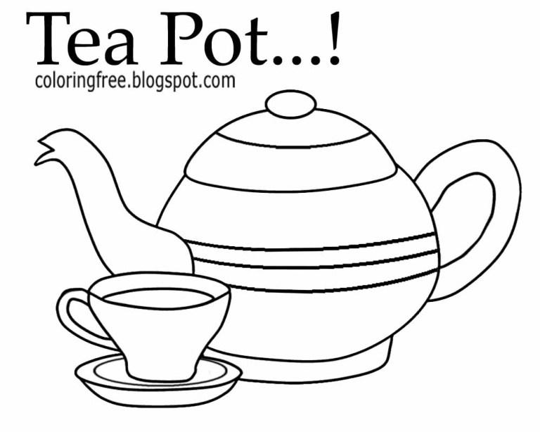 Teacup Template Printable