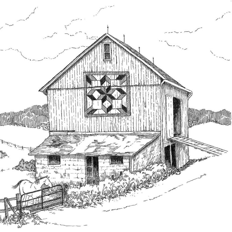 The Coloring Barn