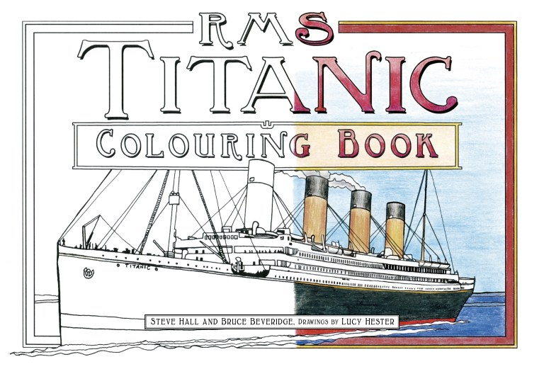 Titanic Coloring Pictures