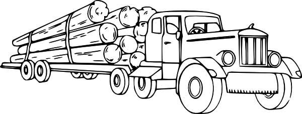 Truck Coloring Picture