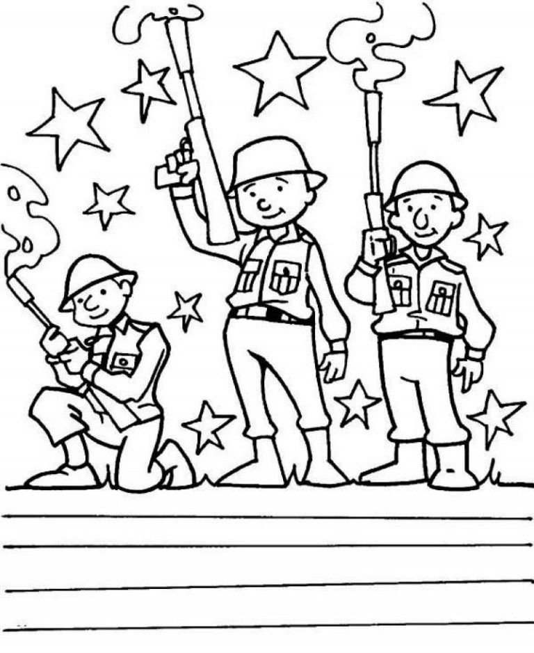 Veterans Day Color Sheets