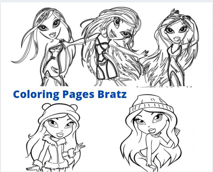 Coloring Pages Bratz