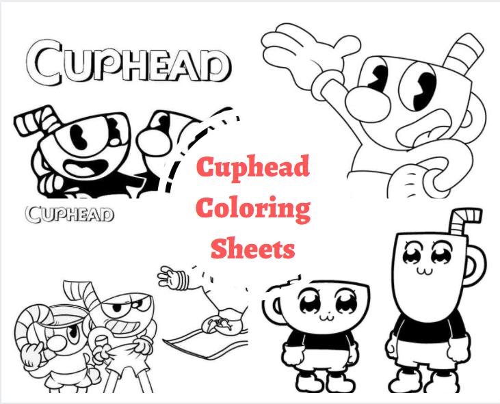 Cuphead Coloring Sheets
