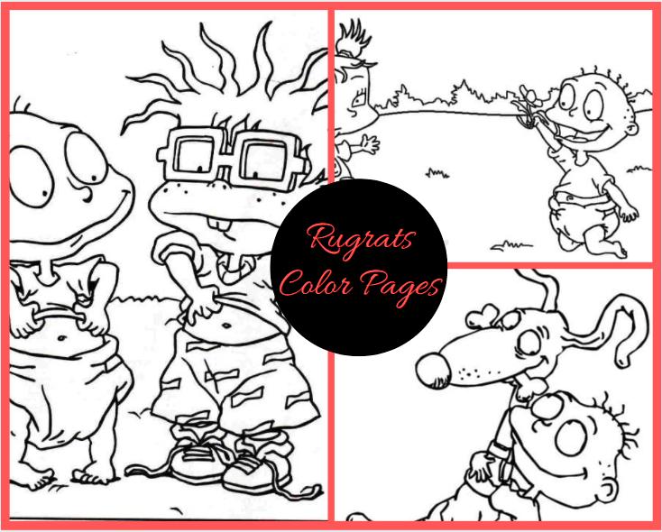Rugrats Color Pages