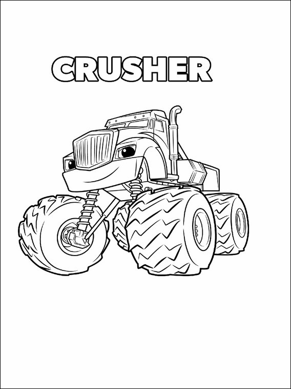 Blaze And The Monster Machines Printables