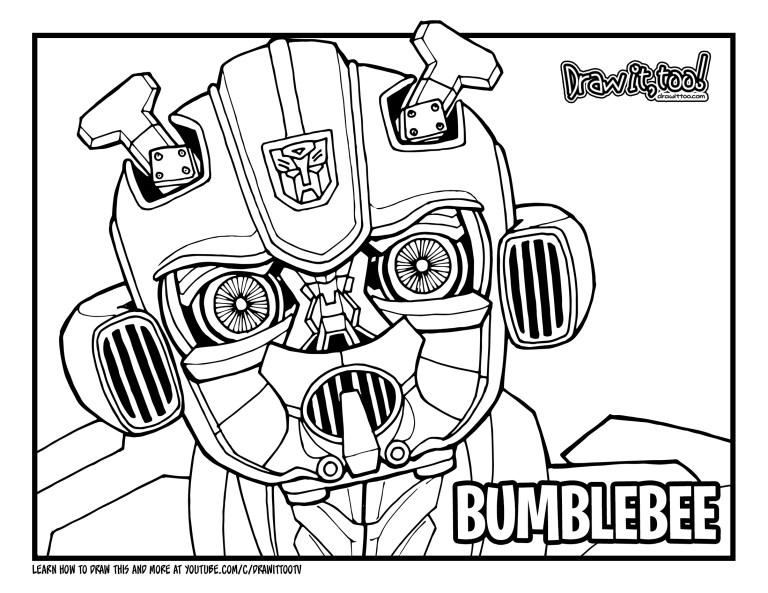 Bumblebee Transformer Outline