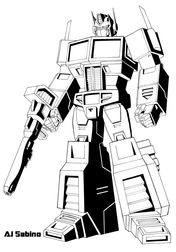 Bumblebee Transformers Coloring Pages