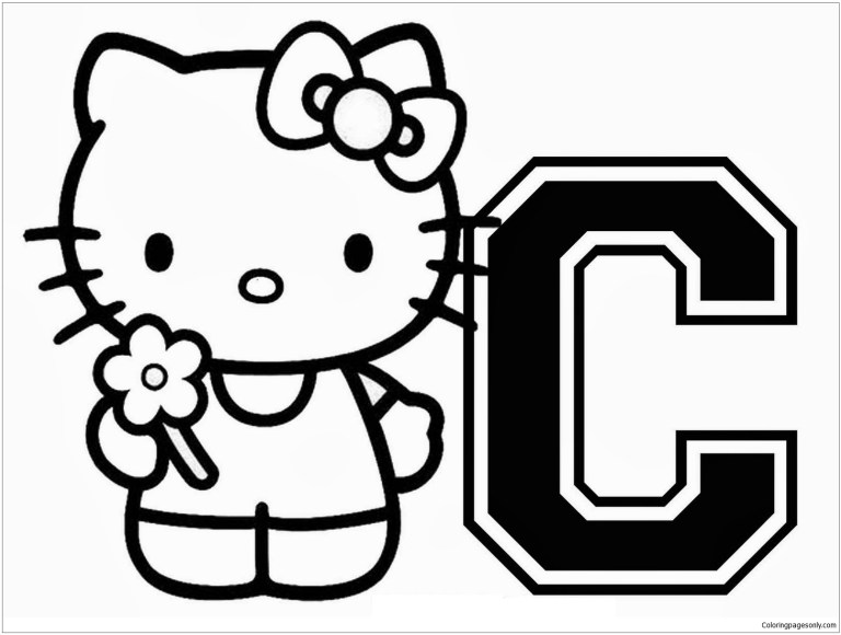 C Coloring Pages