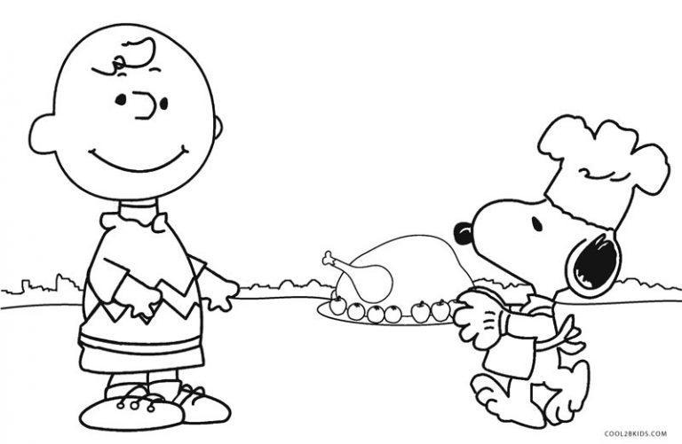Charlie Brown Thanksgiving Printables