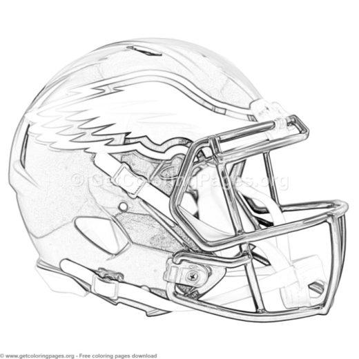 Color Football Helmets