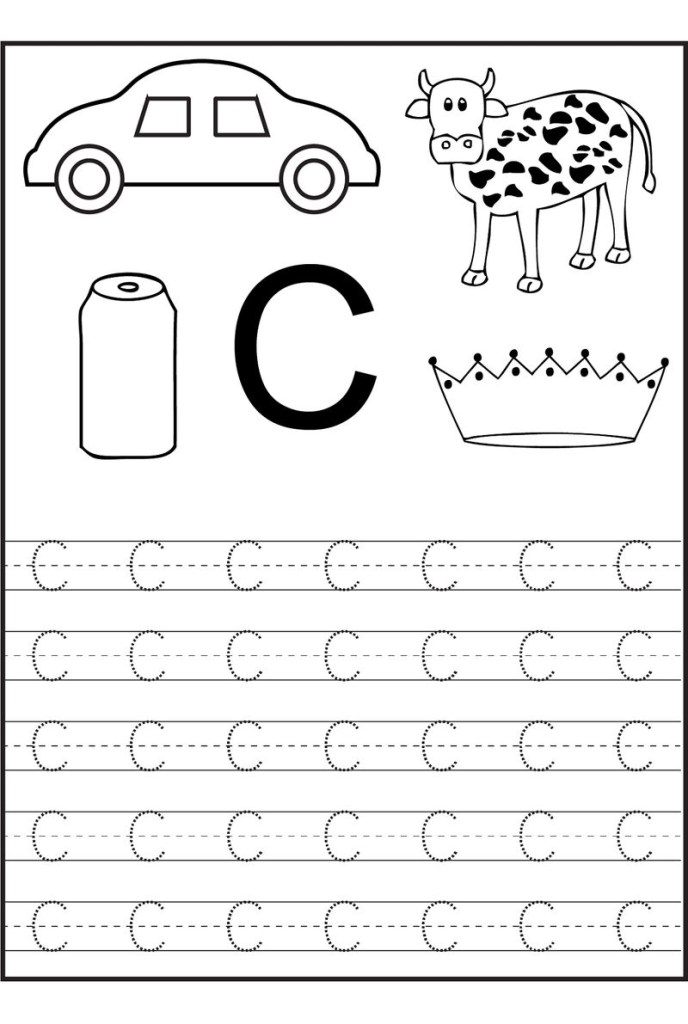 Coloring Page Letter C