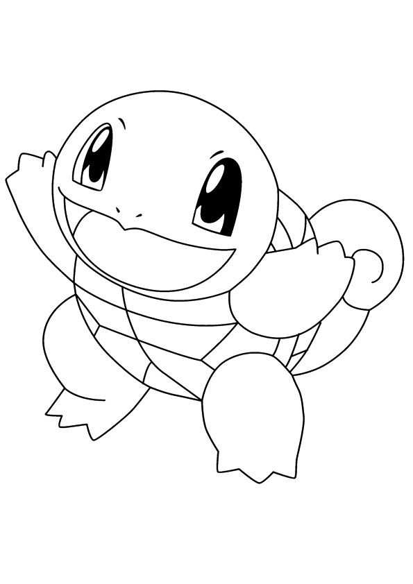 Coloring Pages Squirtle