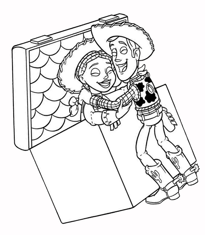Coloring Pages With Story