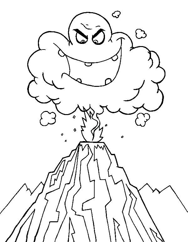 Coloring Volcanoes
