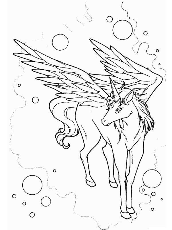 Cool drawing of pegasus art
