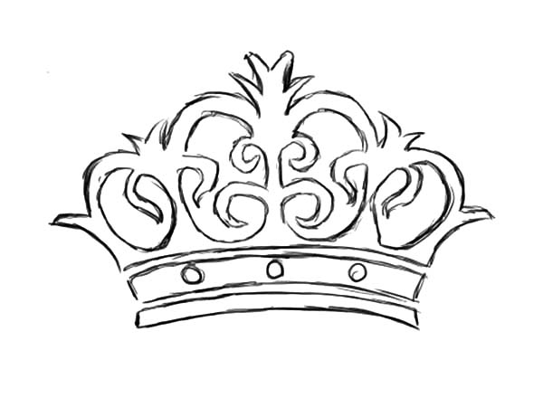 Crown Pictures To Color