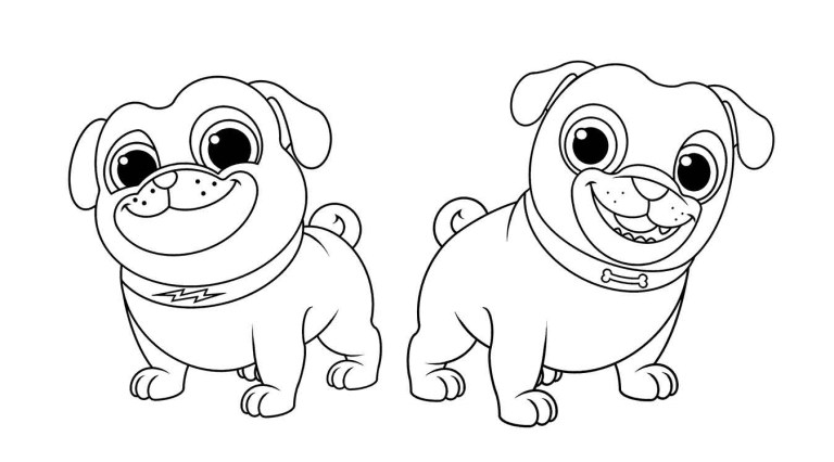 Cute Animal Puppy Dog Pals printable