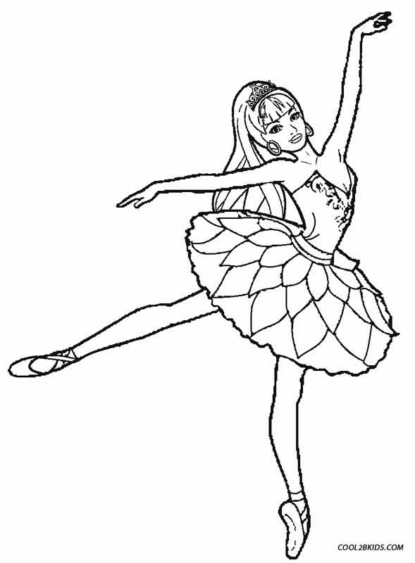 Dance Coloring Pictures