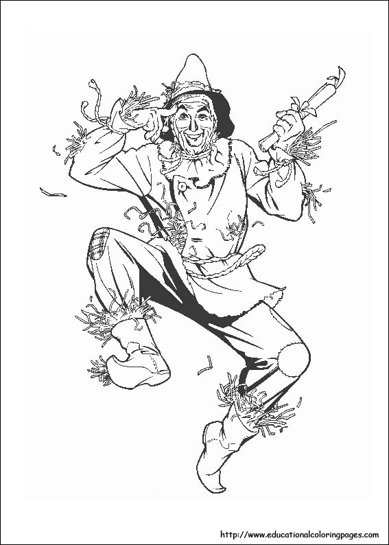 Dorothy Coloring Page
