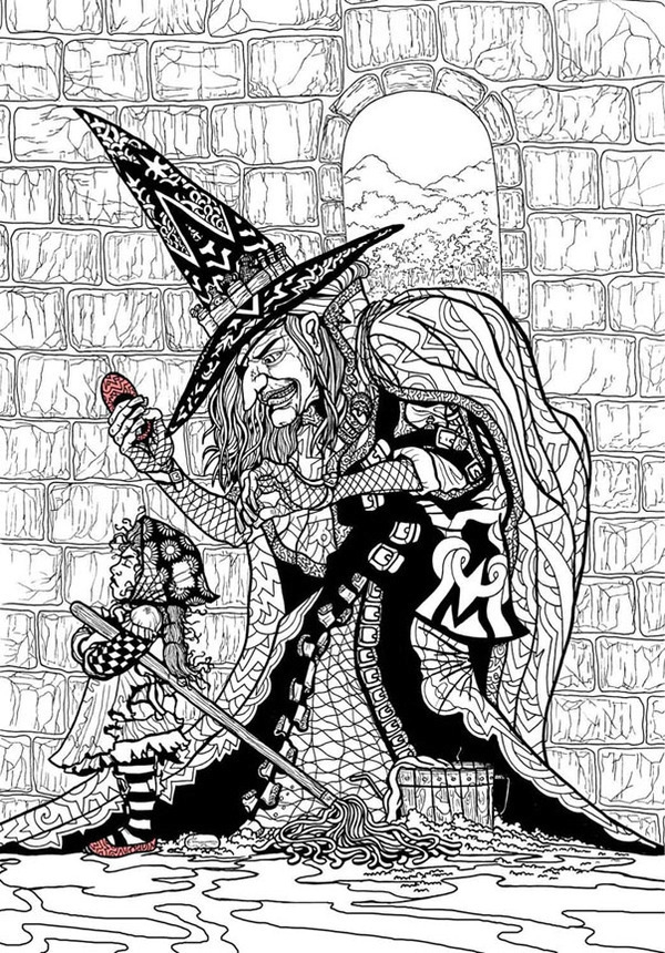 Dorothy Wizard Of Oz Coloring Pages