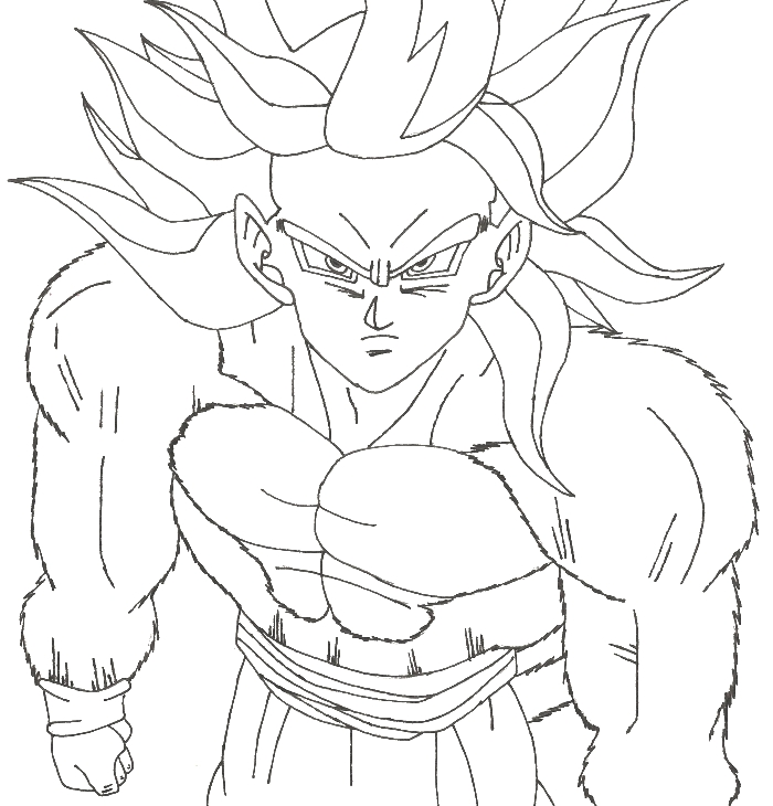 dragonballz coloring pages