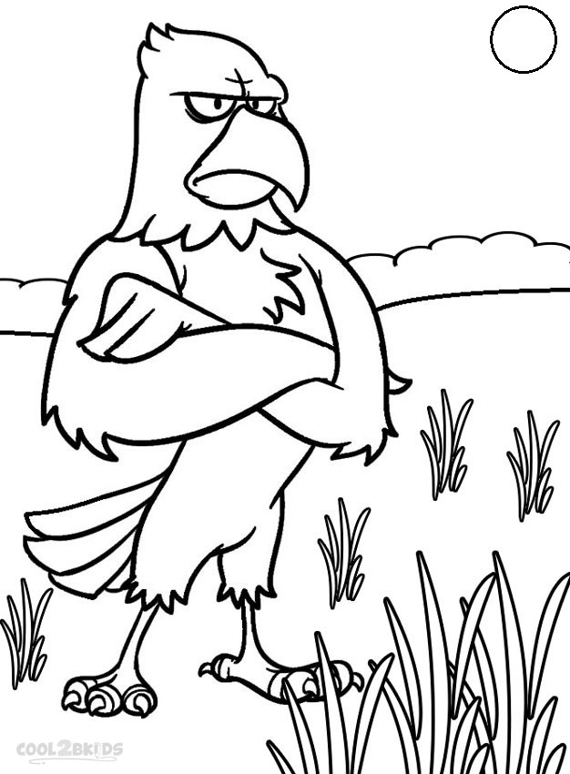 Eagle Coloring Pictures