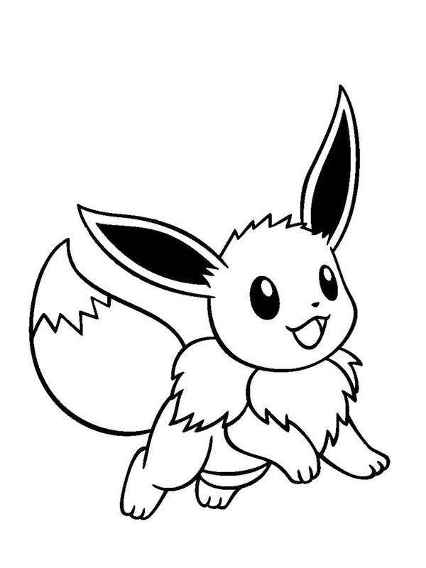 Eevee Pokemon Printable