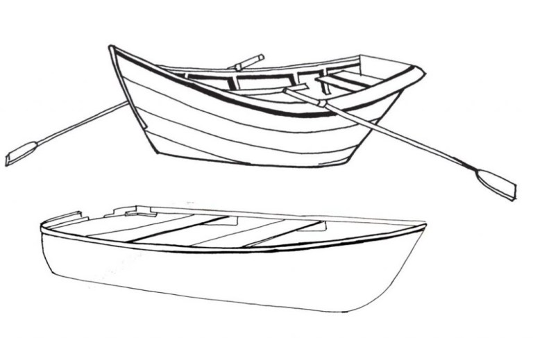 Free Boat Colouring Pages