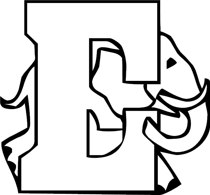 Free Letter E To Color
