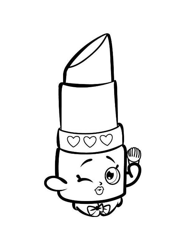 Free Printable Makeup Coloring Pages