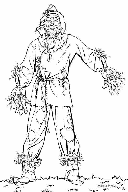 Free Printable Scarecrow
