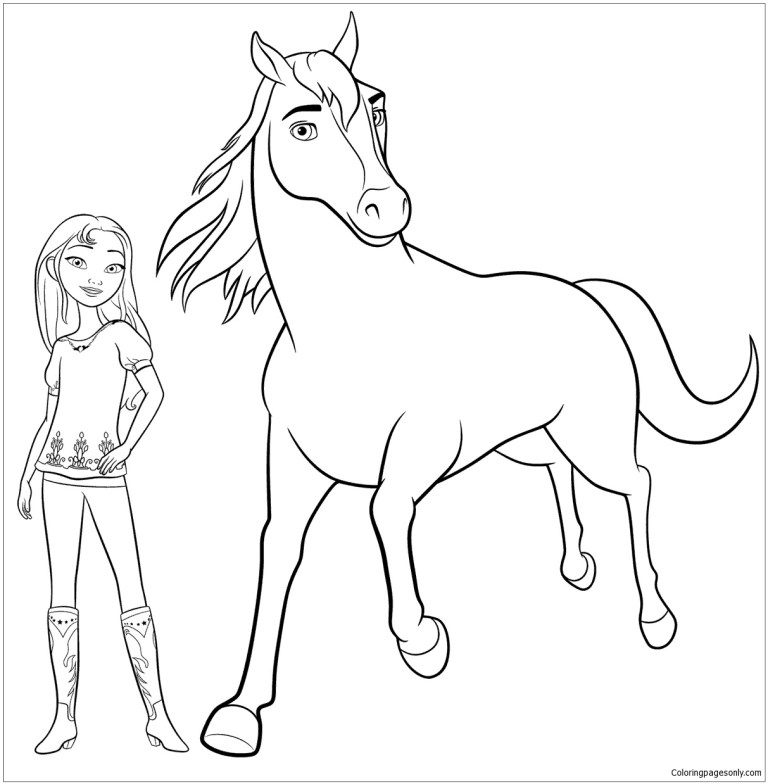 Free Spirit Coloring Pages