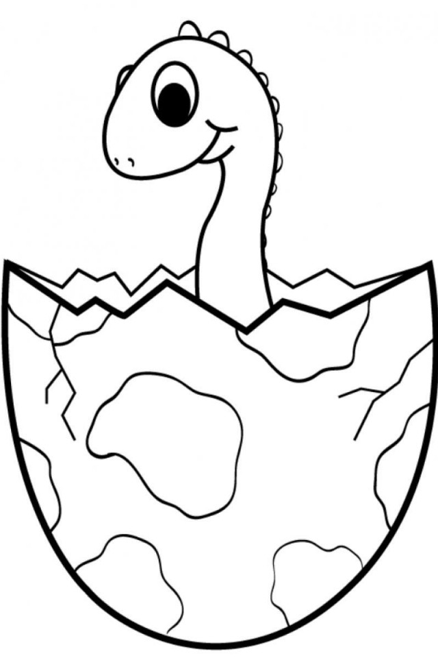 Free Triceratops Coloring Page