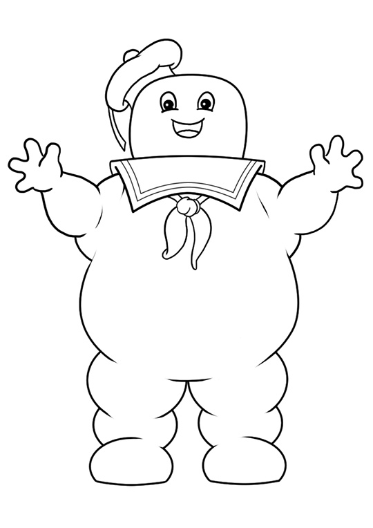 Ghostbusters Logo Coloring Pages