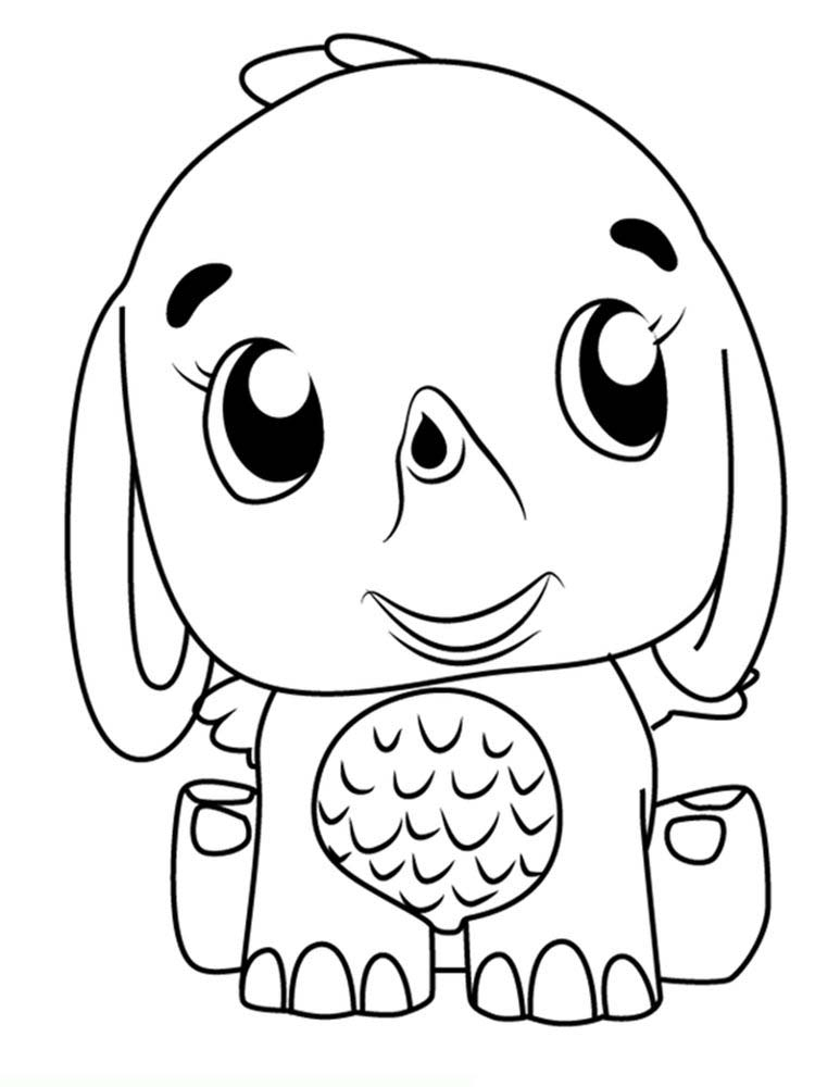 Hatchimals Colleggtibles Coloring Pages