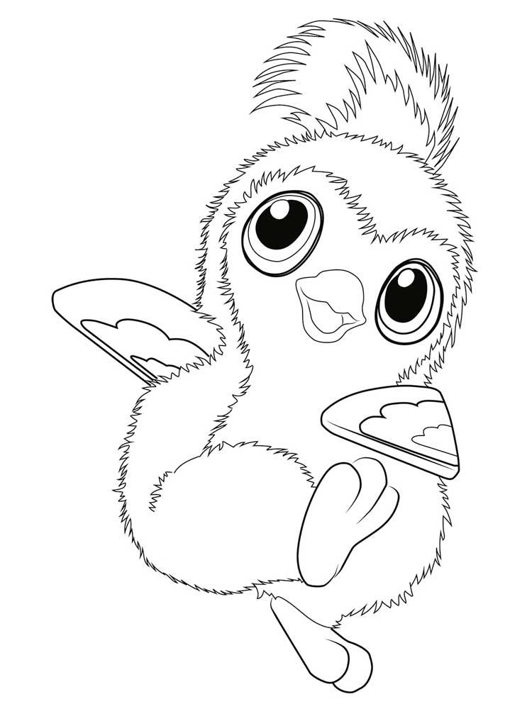Hatchimals Coloring Sheet