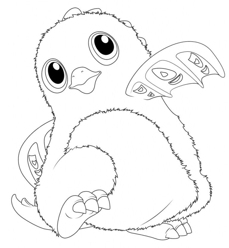 Hatchimals Pixies Coloring Pages