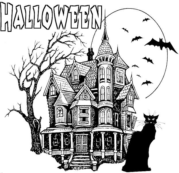 Haunted House Printable