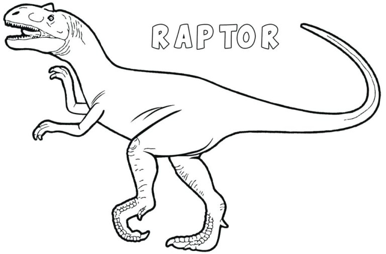Jurassic World Baby Blue Coloring Pages