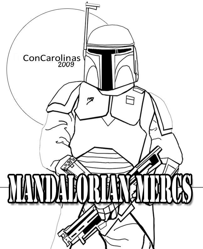 Mandalorian Poster for Print