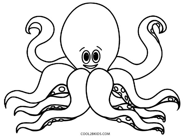 Octopus Pictures To Print