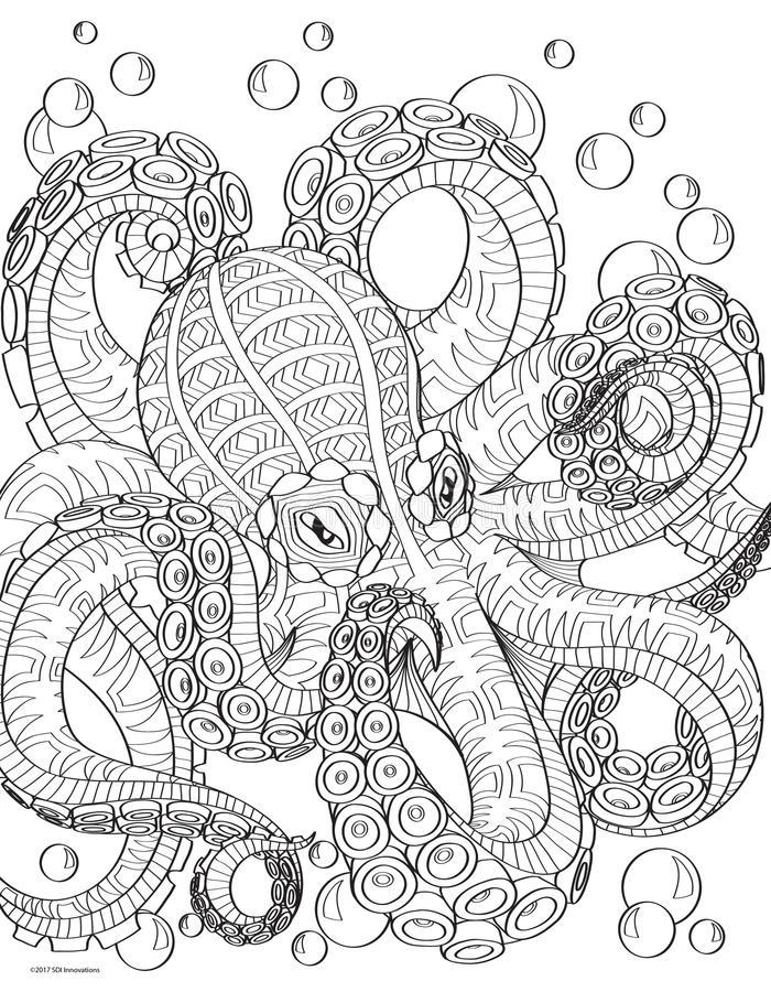 Octopus Printable
