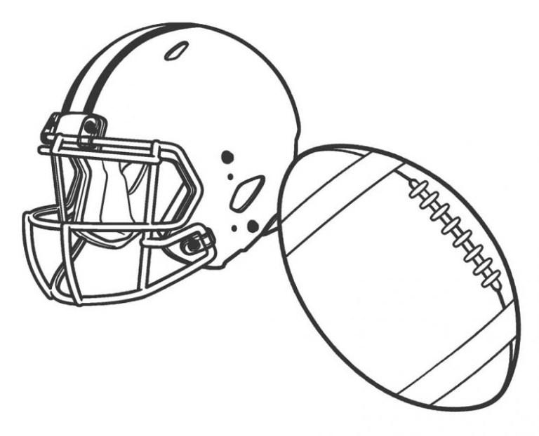 Patriots Helmet Coloring Pages
