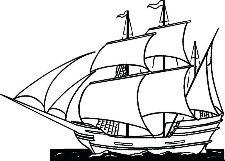 Pirate Ship Color