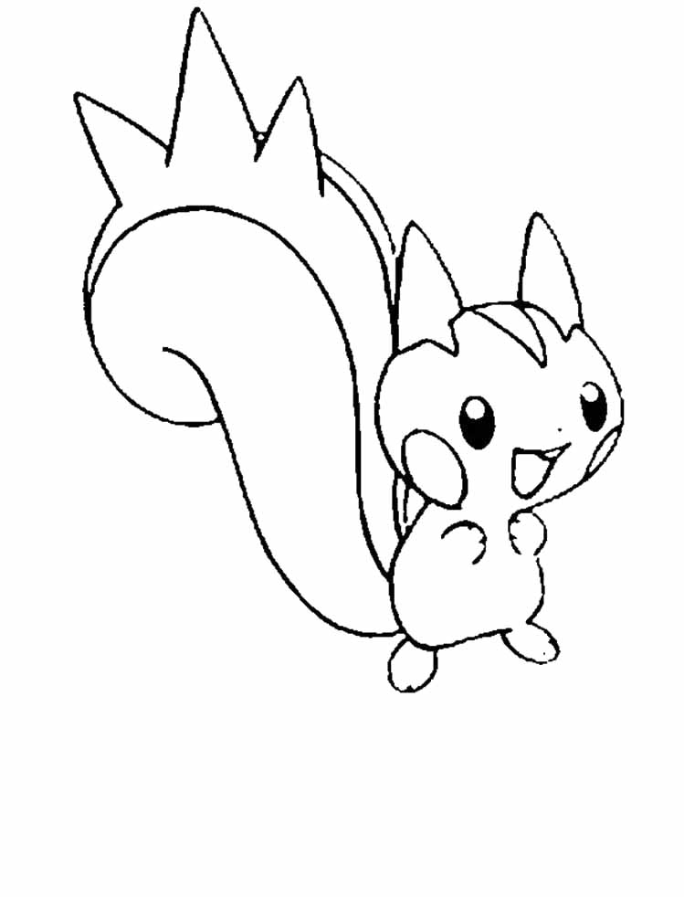 Pokemon Eevee Coloring Pages