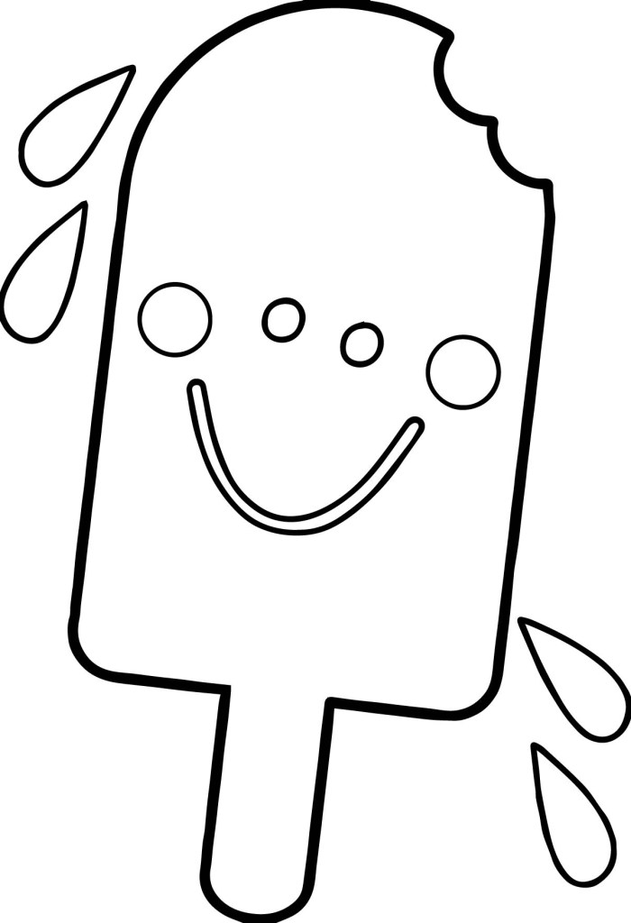 Popsicle Template Free