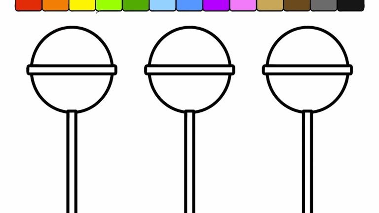 Popsicles Coloring Pages
