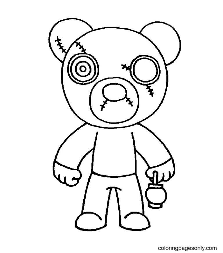 Printable Piggy Roblox